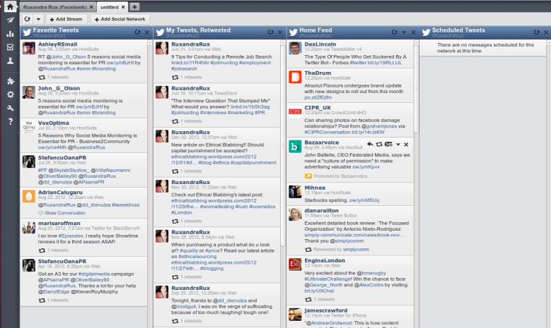 HootSuites 10 Free Social Media Monitoring Tools