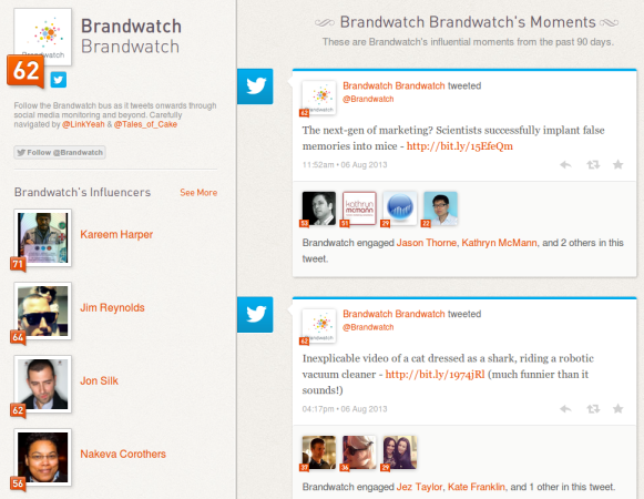 Klout 10 Free Social Media Monitoring Tools